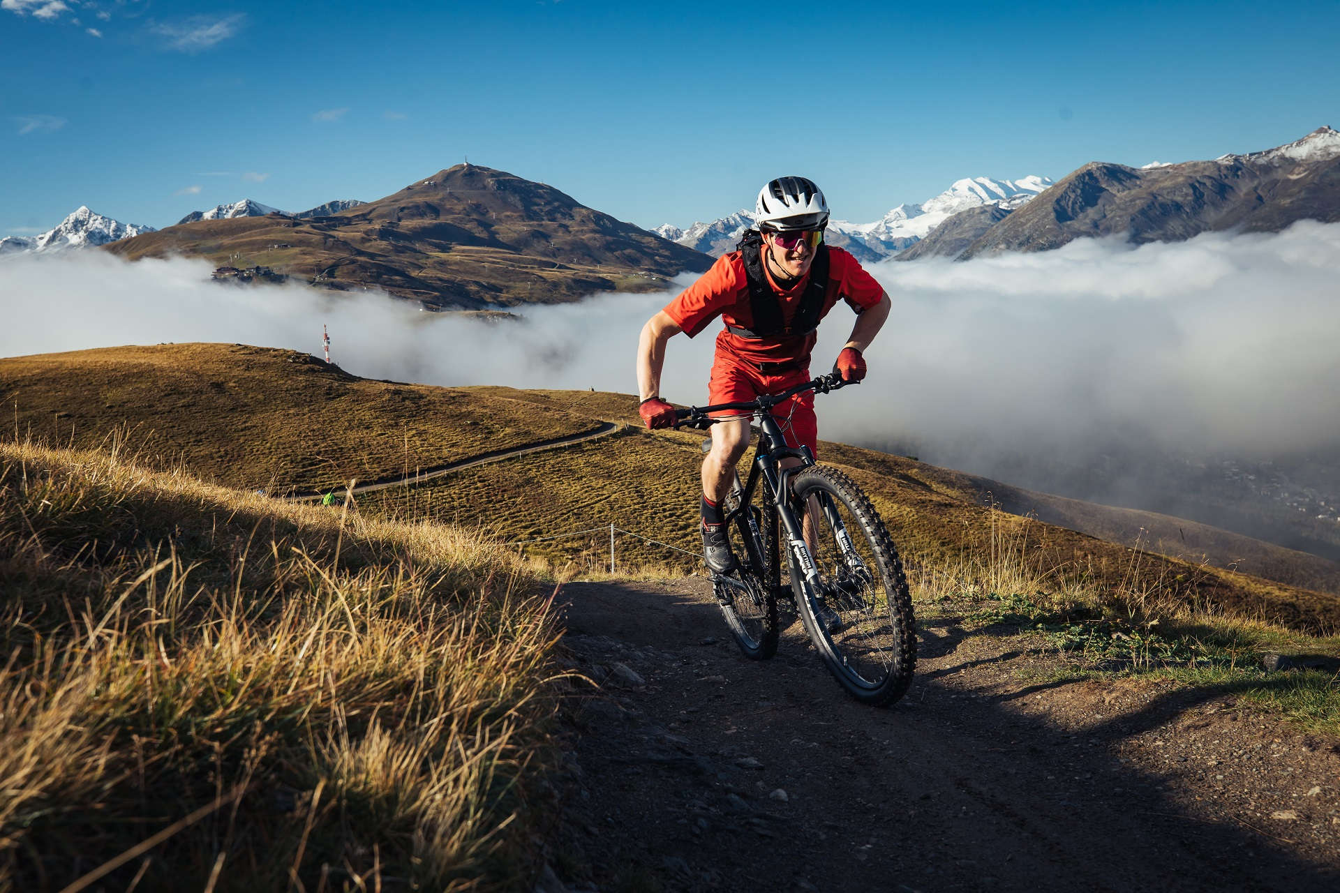 Bulls Mountainbike Trail Uphill