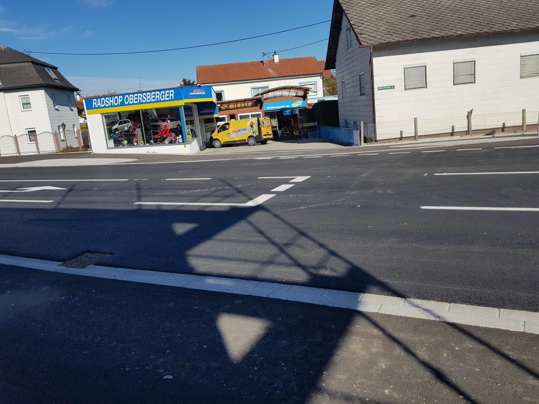 Erweiterung der Laabstraße in Laab